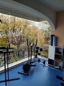 Vetrata panoramica ad impacchettamento per chiusura balcone