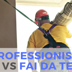 PROFESSIONISTI VS FAI DA TE